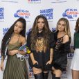 Leigh-Anne Pinnock, Jesy Nelson, Perrie Edwards et Jade Thirwall des Little Mix se rendent à la radio Capital pour le Breakfast show, à Londres le 17 octobre 2016