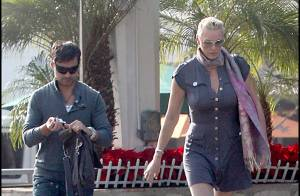 PHOTOS EXCLUSIVES : La géante Brigitte Nielsen et son mari... un couple drôlement assorti !