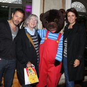 Marc-Olivier Fogiel et Carole Rousseau charmés par Petit Ours Brun sur scène