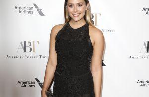 Elizabeth Olsen : Scintillante pour passer la soirée avec Benjamin Millepied