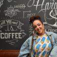 """Exclusif - Shera Kerienski - Soirée de lancement du restaurant """"Hardy"""" le 18 octobre 2016."""