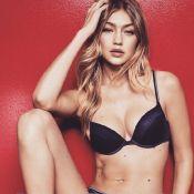 Gigi Hadid : Sexy et captivante, elle se dévoile en lingerie pour Tommy Hilfiger