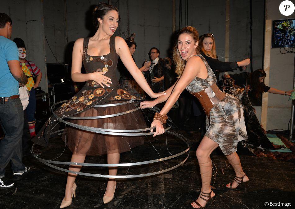 Charlotte namura et clio pajczer dans les coulisses du for Salon de versailles 2016