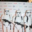"""Stormtroopers ( Star Wars ) à l'ouverture, en avant-première, du """"Paris Games Week"""" au Parc des Exposition de la porte de Versailles, à Paris, le 26 octobre 2016."""