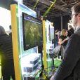 """Ouverture, en avant-première, du """"Paris Games Week"""" au Parc des Exposition de la porte de Versailles, à Paris, le 26 octobre 2016."""