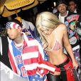Kylie Jenner et Tyga arrivent au Bootsy Bellows pour fêter Halloween le 29 octobre 2016 à Los Angeles