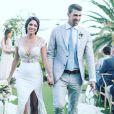 """Nicole et Michael Phelps se sont à nouveau dits """"oui"""" à San Cabo, au Mexique, le 29 octobre 2016."""