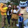 Alyssa Milano a fêté Halloween avec son clan sur le thème de Pokémon Go. Instagram, octobre 2016.