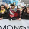 Imany - Marche mondiale contre l'endométriose à la gare Montparnasse à Paris le 19 mars 2016 © Christophe Clovis / Bestimage