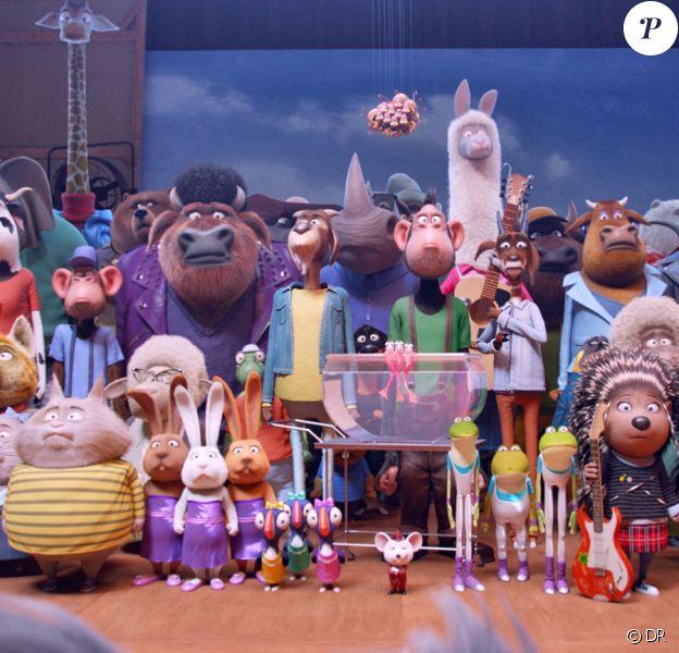 Image du film d'animation Tous en scène, en salles le 25 janvier 2017