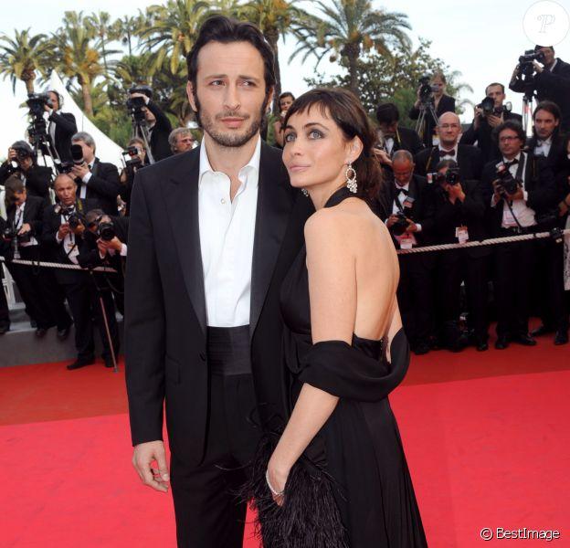 Emmanuelle Béart et Michaël Cohen à Cannes en 2008.