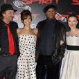 Frank Miller, Eva Mendes, Samuel L. Jackson et Scarlett Johansson