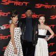 Eva Mendes, Samuel L. Jackson et Scarlett Johansson