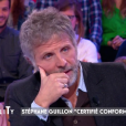 """Stéphane Guillon évoque son salaire et sa brouille avec Cyril Hanouna. Emission """"AcTualiTy"""" sur France 2, le 25 octobre 2016."""
