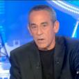 """Thierry Ardisson dans """"Salut les terriens"""" sur Canal+, le 22 octobre 2016."""