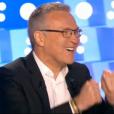 """""""On n'est pas couché"""", le 12 novembre 2016 sur France 2. Ici Laurent Ruquier."""