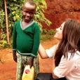 Meghan Markle, girlfriend du prince Harry. Photo Instagram de son séjour humanitaire au Rwanda en début d'année 2016.