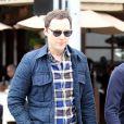 Jim Parsons est allé déjeuner avec un ami à Beverly Hills, le 25 mai 2016
