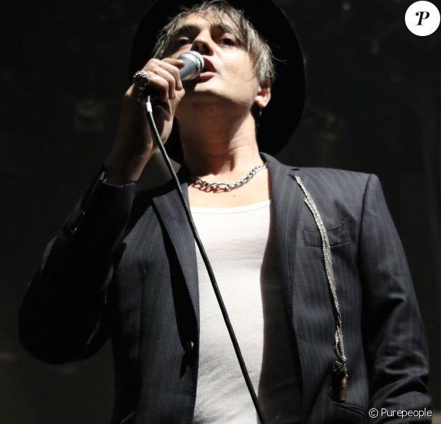 Pete Doherty en concert au Bataclan à Paris le 16 novembre 2016.