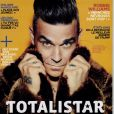 "Robbie Williams en couverture de ""Technikart"", en kiosques le 15 novembre 2016."