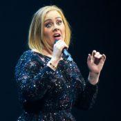 Adele : Effrayée en plein concert, elle gigote dans tous les sens !