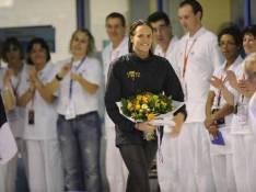 Les nageurs français torpillent le 50 mètres, Laure Manaudou en grande forme... comme son amoureux !