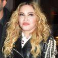 Madonna et Lenny Kravitz à la sortie d'une soirée dans le quartier de Manhattan à New York, le 13 novembre 2016