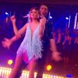 """Caroline Receveur et Maxime dans """"DALS7"""" le 26 novembre 2016 sur TF1."""