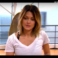 """Caroline Receveur et Maxime dans """"DALS7"""" sur TF1, le 26 novembre 2016."""