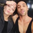Caroline Receveur et Maxime Dereymez le 25 novembre 2016.