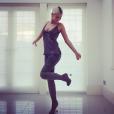 Mélanie Da Cruz pose sur Instagram
