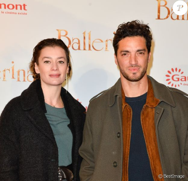 """Aurélie Dupont et Jérémie Bélingard - Avant-première du film """"Ballerina"""" au Gaumont Opéra à Paris Le 27 novembre 2016 © Guirec Coadic / Bestimage"""