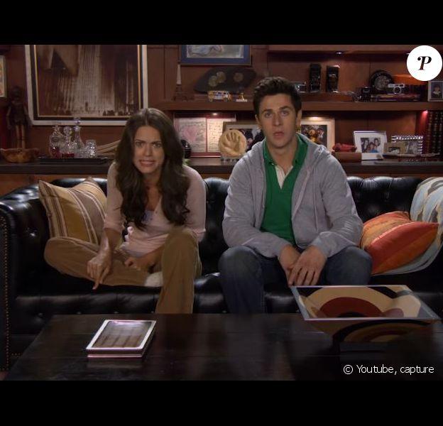 Lyndsy Fonseca et David Henrie dans le trailer de la 9e saison de How I Met Your Mother