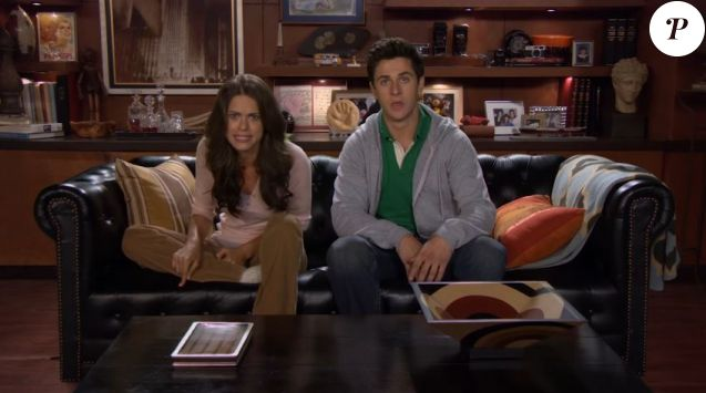 Lyndsy Fonseca et David Henrie dans le trailer de la 9e saison de How I Met Your Mother