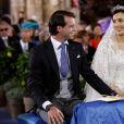 Mariage religieux de S.A.R le Prince Felix de Luxembourg et Claire Lademacher en la basilique Sainte-Marie-Madeleine de Saint-Maximin-la-Sainte-Baume en France le 21 septembre 2013.