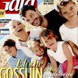 Elodie Gossuin avec son mari Bertrand et leurs enfants en couverture de Gala, le 3 août 2016