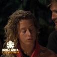 """Candice et Freddy - Finale de """"Koh-Lanta, L'île au trésor"""". Sur TF1, le 9 décembre 2016."""
