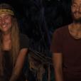 """Jesta et Benoît - Finale de """"Koh-Lanta, L'île au trésor"""". Sur TF1, le 9 décembre 2016."""