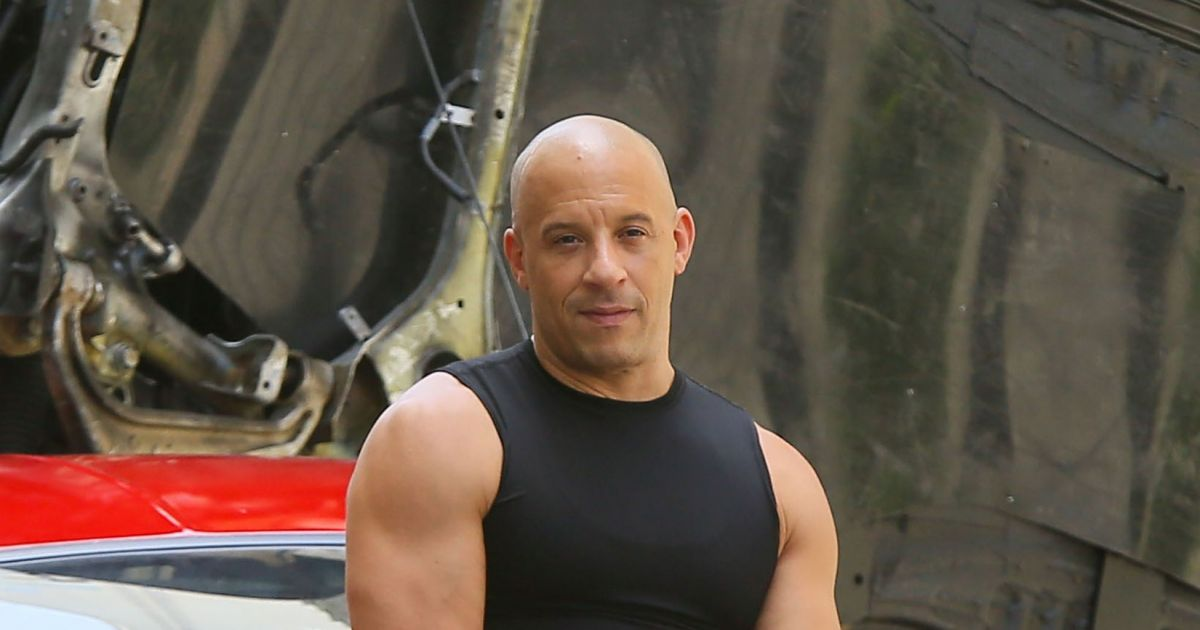 exclusif vin diesel sur le tournage de fast furious 8 atlanta le 12 juillet 2016. Black Bedroom Furniture Sets. Home Design Ideas