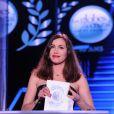 Exclusif - Olivia Ruiz - 10ème cérémonie des Globes de Cristal au Lido à Paris, le 13 avril 2015.