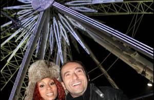 PHOTOS : Mia Frye et Patrick Timsit bravent le froid... pour avoir la tête dans les étoiles !