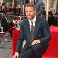 Ryan Reynolds reçoit son étoile sur le Walk of Fame à Hollywood, le 15 décembre 2016