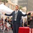 Ryan Reynolds et Anna Faris sur le Walk of Fame à Hollywood le 15 décembre 2016