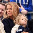 Blake Lively et sa fille James Reynolds - Ryan Reynolds reçoit son étoile sur le Walk of Fame à Hollywood, le 15 décembre 2016
