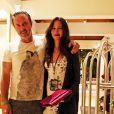 David Arquette et sa femme Christina McLarty à la soirée du nouvel an 2016 de Shep Gordon au 'Wailea Beach Marriott Resort & Spa' à Hawaii, le 31 décembre 2015