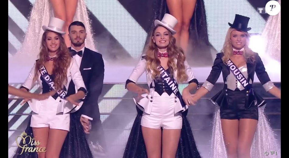 Les candidates en costume sexy pour le titre de Miss France 2017 , Concours Miss France