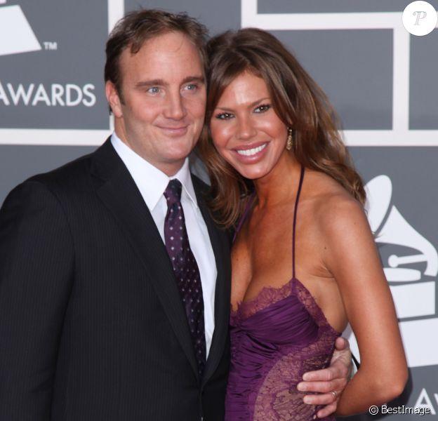 Nikki Cox et Jay Mohr à la 51ème cérémonie des Grammy Awards à Los Angeles le 8 février 2009