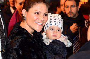 Victoria de Suède en Italie : Le prince Oscar, 9 mois, se montre à Milan !