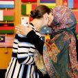 La princesse Victoria et le prince Daniel de Suède visitent l'Organisation des Nations unies pour l'alimentation et l'agriculture à Rome, le 16 décembre 2016, lors de leur déplacement à Rome.16/12/2016 - Rome