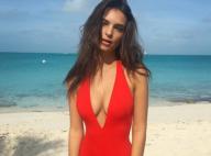 Emily Ratajkowski : Rentrée de ses vacances aux Bahamas... Et méconnaissable !
